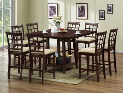 Studio Katelyn Modern Pub Table Set U2013 7 Piece Modern Dining Set