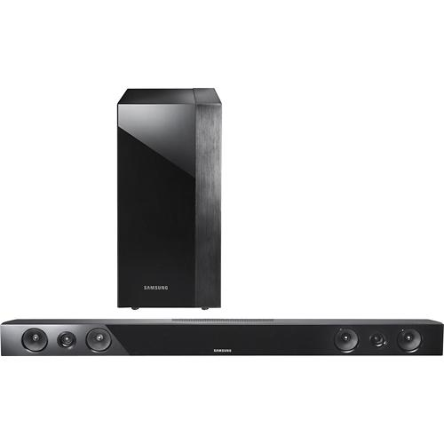 Samsung 2 1 channel soundbar with wireless subwoofer for Samsung sound bar
